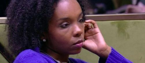 Thelma fala com sisters sobre prova do líder. ( Reprodução/TV Globo )