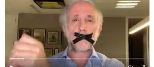 Eduardo Inda sube un vídeo que las redes repudian (captura de pantalla)