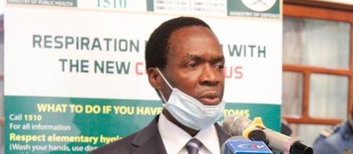 Ministre Délégué à la Présidence chargé de la Défense, Joseph Beti Assomo (c) Facebook Ministère de la Défense du Cameroun