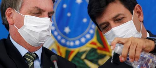 Presidente Jair Bolsonaro demite Ministro da Saúde, Henrique Mandetta: chispas, discordâncias e declarações rudes. (Arquivo Blasting News)
