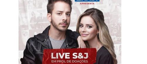 Sandy e Júnior confirmam live. (Reprodução/Instagram/@sandyoficial)