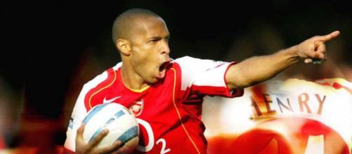 Thierry Henry avec Arsenal (Credit : Flicr/luc_codon_anhchican_emthoi)