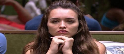 """BBB20"""": Rafa Kalimann defende Paula Sperling e é 'cancelada' na internet. (Reprodução/TV Globo)"""
