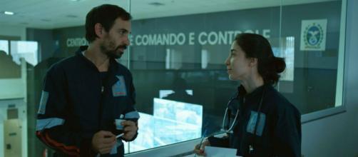 Carolina é interpretada por Marjorie Estiano. (Reprodução/TV Globo)