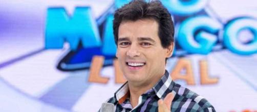 Celso Portiolli é apresentador do Domingo Legal (Arquivo Blasting News)