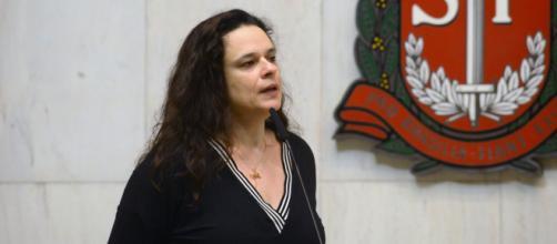 Janaína Paschoal revelou ter contraído coronavírus. (Divulgação/Site Oficial da Assembleia Legislativa de São Paulo)