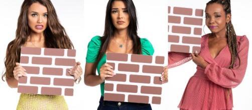 Rafa, Ivy e Thelma se enfrentam no paredão do 'BBB20'. (Arquivo Blasting News)