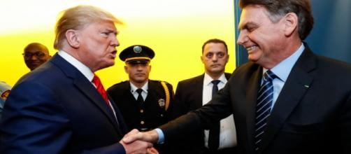 Covid-19: Donald Trump elogia trabalho de Jair Bolsonaro e fala sobre vírus. (Arquivo Blasting News)