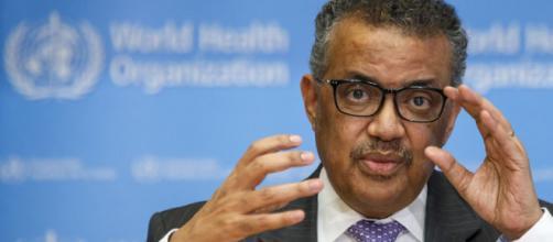El Dr. Tedros Adhanom Ghebreyesus, director de la OMS expresa la preocupación por el avance del coronavirus.