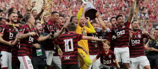 Flamengo venceu a Libertadores de 2019 com autoridade. (Arquivo Blasting News)