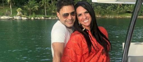 Graciele e Zezé malham juntos durante isolamento. (Arquivo Blasting News)