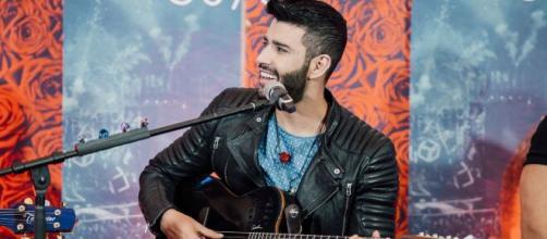 Gusttavo Lima marca história da live no Youtube (Arquivo Blasting News)
