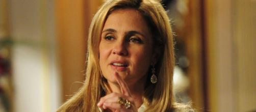 Adriana Esteves volta a interpretar Carminha. (Reprodução/TV Globo)