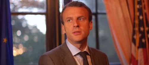 Emmanuel Macron dans un état de fatigue important. Credit : Flickr