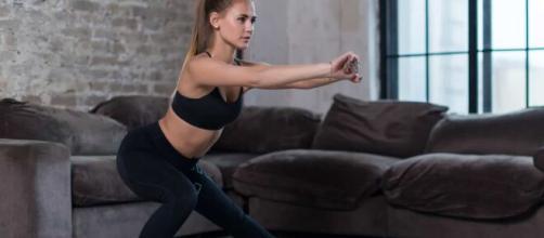 Exercícios que podem ser feitos em casa. (Arquivo Blasting News)