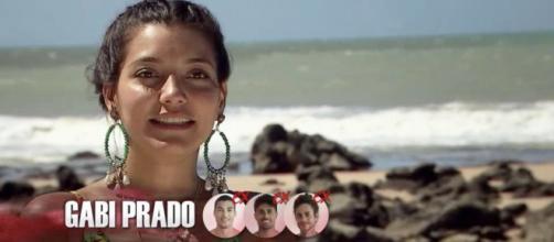Gabi Prado participou de duas temporadas do programa. (Reprodução/MTV)
