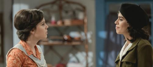 Il Segreto, anticipazioni spagnole: Marcela accusa Alicia di averle rubato Matias