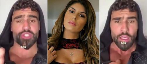 Jonathan Matijas furieux contre son ex Sarah Lopez après son live Instagram, il la clashe ! ®Snapchat