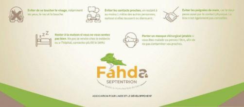 L'association Fahda Septentrion en pôle position pour la lutte contre le Covid-19 (c) Fahda