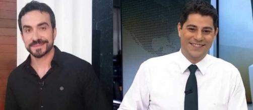 Live de Padre Fábio de Melo com Evaristo Costa anima os seguidores. (Arquivo Blasting News)