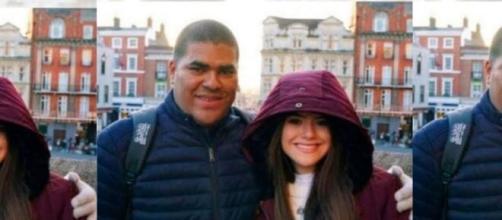 Maisa e o pai, Celso Andrade. (Foto: Instagram).