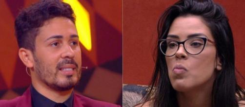 O influenciador Carlinhos Maia defendeu Ivy Moraes no 'BBB20' e criticou o linchamento virtual contra ela. (Reprodução/TV Globo)