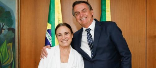 Regina Duarte largou a Globo para entrar na política. (Arquivo Blasting News)
