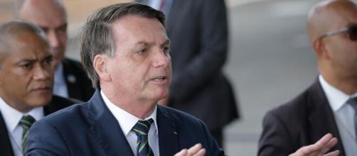 """""""Respeito o STF e o Congresso, mas tenho opinião"""", afirma Bolsonaro. (Arquivo Blasting News)"""