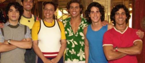 Reynaldo Gianecchini viveu Paco e Apolo. (Reprodução/TV Globo)