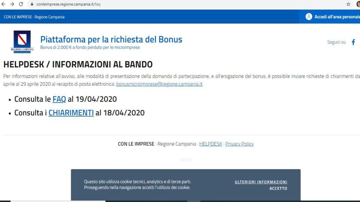 Imprese Di Costruzioni Campania regione campania, bonus 2.000 euro per micro-imprese: via