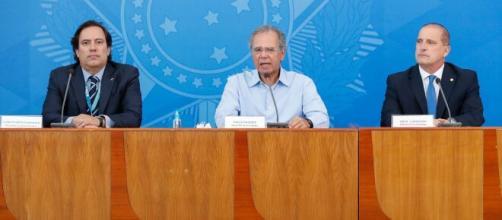 Caixa anunciou a antecipação da segunda parcela do auxílio nesta segunda-feira (20). (Reprodução/TV Globo)