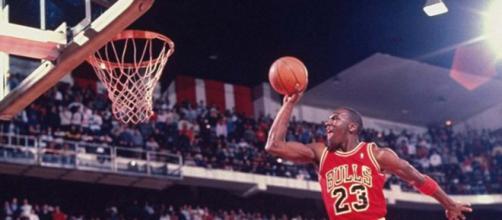 El salto que inmortalizó Jordan.