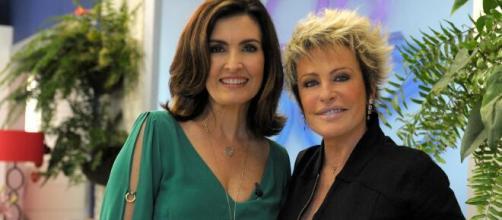 Fátima Bernardes voltou ao ar e conversou com Ana Maria Braga. (Reprodução/TV Globo)