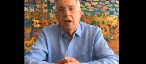 FHC rebate Jefferson sobre 'complô' contra Bolsonaro. (Reprodução/Twitter)