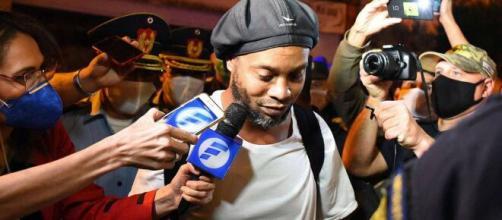Ronaldinho preso em hotel no Paraguai. (Arquivo Blasting News)