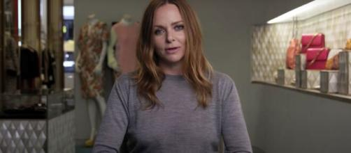 British fashion designer Stella McCartney decides to furlough hundreds of employees during the outbreak. [Image Source: Vogue/YouTube]