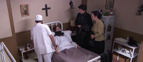 Una Vita, anticipazioni spagnole: Ursula manda in ospedale Augustina