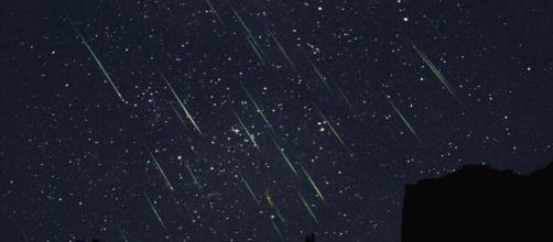 Chuva de meteoros poderá ser vista dos dias 16 a 25 de abril. (Arquivo Blasting News)