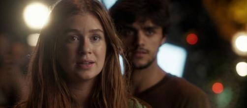 Eliza era interpretada pela Marina Ruy Barbosa. (Reprodução/TV Globo)
