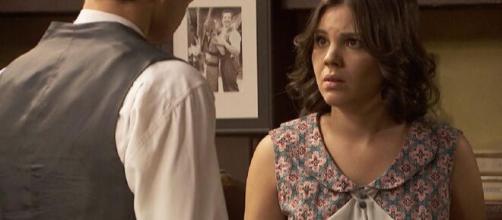 Il Segreto anticipazioni fino al 2 maggio: il comportamento di Matias infastidisce Marcela.