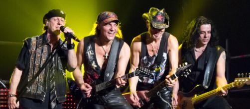 Banda Scorpions: grupo mais venenoso de várias gerações. (Arquivo Blasting News)
