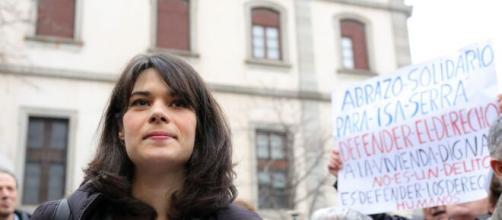 Isa Serra, condenada a 19 meses de cárcel e inhabilitación