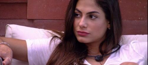 Mari é eliminada no 16º paredão da edição. (Reprodução/TV Globo)