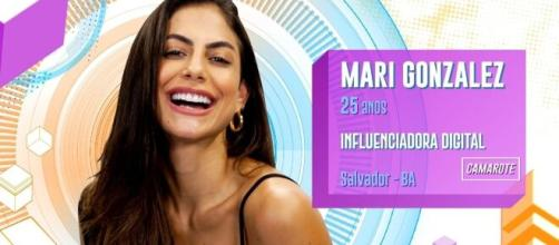 """Mari Gonzalez deixou o """"BBB20"""" nesta terça-feira (21). (Reprodução/TV Globo)"""