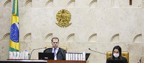 Presidente do STF Dias Toffoli - Divulgação/Site Oficial do Supremo Tribunal Federal