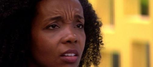 Thelma Assis confessou que ficou com medo de ser mal interpretada após optar por votar em Babu no BBB20. ( Reprodução/TV Globo )