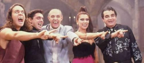 """""""Vamp"""" fez grande sucesso na época. (Reprodução/TV Globo)"""
