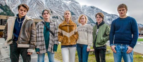 5 atores do seriado Ragnarok da Netflix. (Reprodução/Netflix)