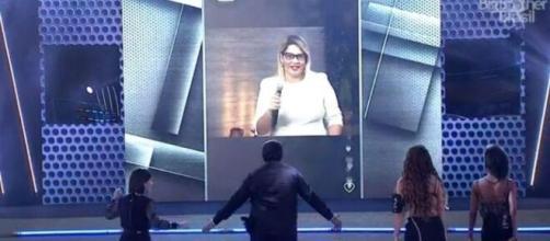 'BBB20': Marília Mendonça surgiu em live no reality. (Reprodução/TV Globo)