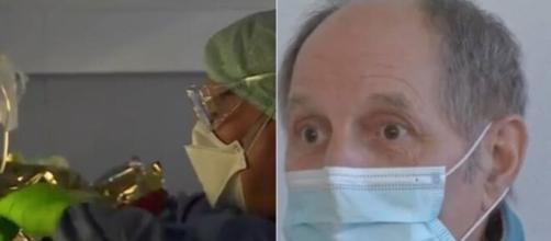 Coronavirus : 'j'ai vécu l'enfer' il témoigne après sa sortie de l'hôpital - photo captures d'écran de la vidéo